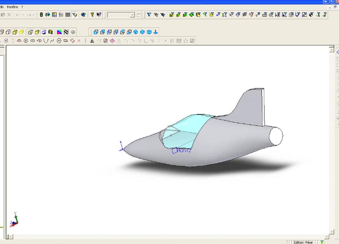 3D de ATV composite